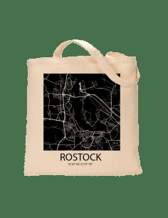 """Jutebeutel nature \\""""Rostock Sky Block negativ\\"""" Zubehör & Geschenke 9,99 €"""