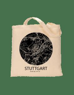 """Jutebeutel nature \\""""Stuttgart Sky Eye negativ\\"""" Zubehör & Geschenke 9,99 €"""