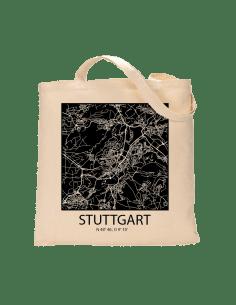 """Jutebeutel nature \\""""Stuttgart Sky Block negativ\\"""" Zubehör & Geschenke 9,99 €"""