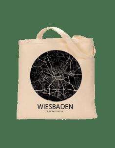"""Jutebeutel nature \\""""Wiesbaden Sky Eye negativ\\"""" Zubehör & Geschenke 9,99 €"""
