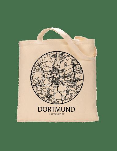 """Jutebeutel nature \\""""Dortmund Sky Eye mit Kontur\\"""" Zubehör & Geschenke 9,99 €"""