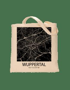"""Jutebeutel nature \\""""Wuppertal Sky Block negativ\\"""" Zubehör & Geschenke 9,99 €"""