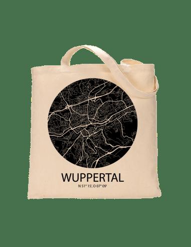 """Jutebeutel nature \\""""Wuppertal Sky negativ\\"""" Zubehör & Geschenke 9,99 €"""