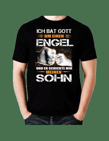 Ich bat Gott um einen Engel Sohn T-Shirt Hoodie Baby & Familie  18,90 €