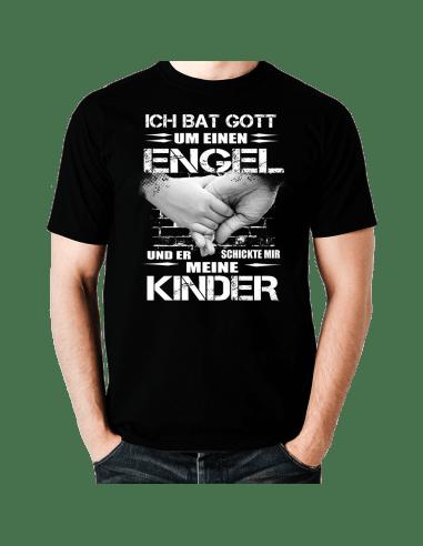 Ich bat Gott um einen Engel Kinder T-Shirt Hoodie Baby & Familie  18,90 €