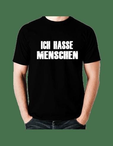 Ich Shirt T Hasse Menschen y76gbf