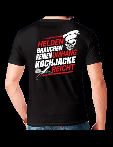 Helden brauchen kein Umhang Kochjacke reicht ! T-Shirt Hoodie Schule, Studium & Beruf 18,90 €