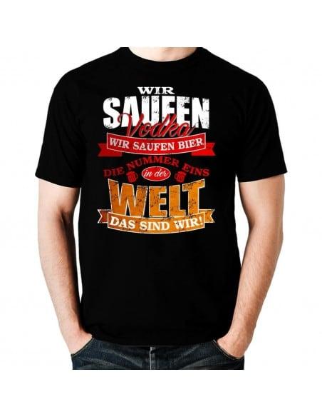 Wir saufen Vodka, wir saufen Bier... WM Deutschland T-Shirt WM Shirts 18,90 €