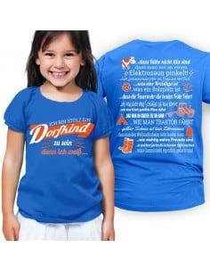 Ich bin stolz ein Dorfkind zu sein - denn ich weiss...Kinder T-Shirt Hoodie Baby & Familie  14,90 €