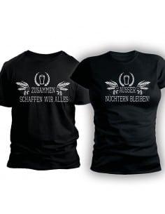 Zusammen schaffen wir alles ALKOHOL Party T-Shirt Hoodie Paar-Shirts 30,00 €